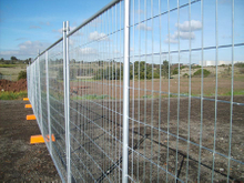 Used Temporary fence panel