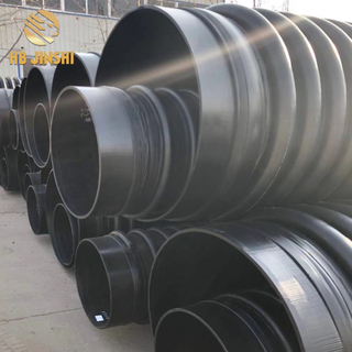 Plastic High Quality 50years Shelf Life DN300-DN4200 HDPE Carat Pipe Tube for long distances Water delivery