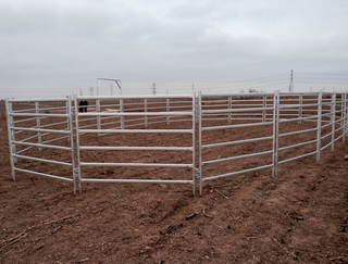 Australian style 2.1*1.8m paddock fence panel/cattle fencepanel/horse fence panel