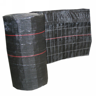 Woven PP geofabric fabric with 14 gauge wire mesh construction sites sediment control Black high backed silt fence
