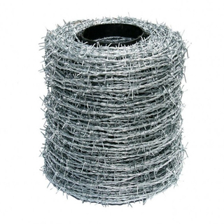 China Cheap Barbed Tape, Galvanized Twisted Fence Wire