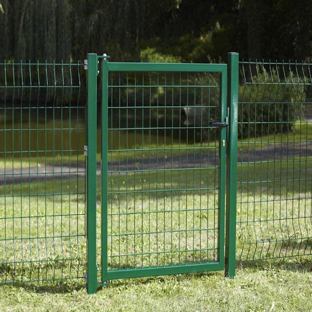 Portillon De Clture Vert Pour Jardin Portillon De Jardin ...